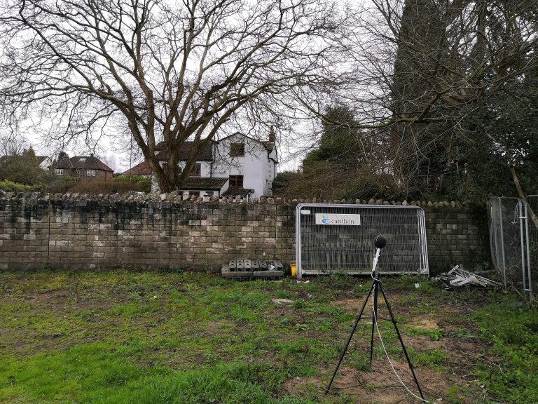 Noise Survey for a Residential Development in Bristol