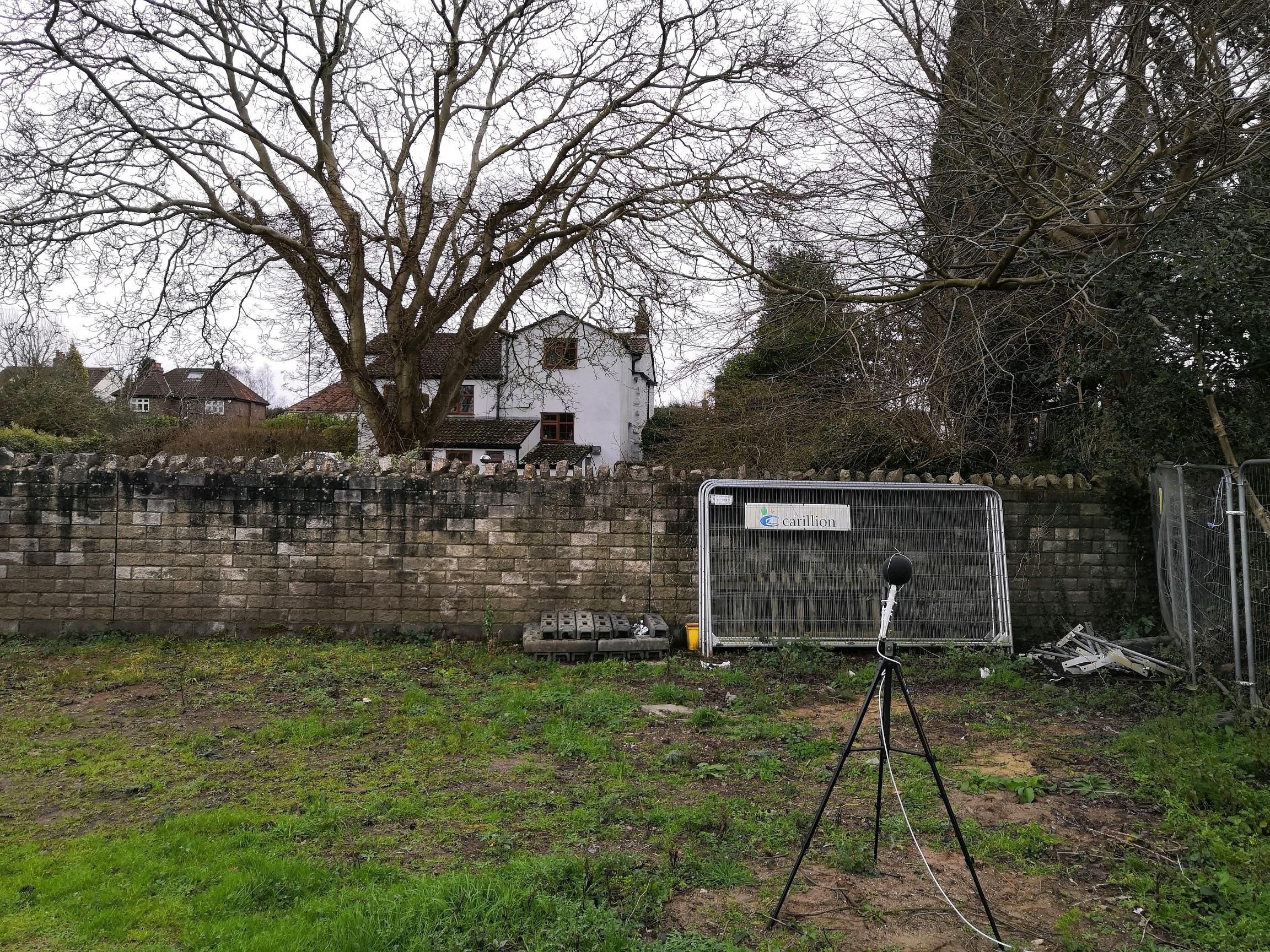 Noise Survey for a Residential Development in Bristol