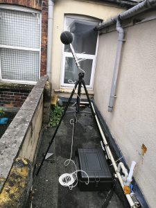 Noise Survey for a Takeaway in Swindon