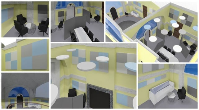 Acoustic Treatment in Open Plan Offices