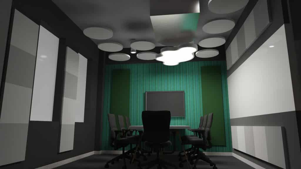 Acoustic treatment solutions meeting rooms 2