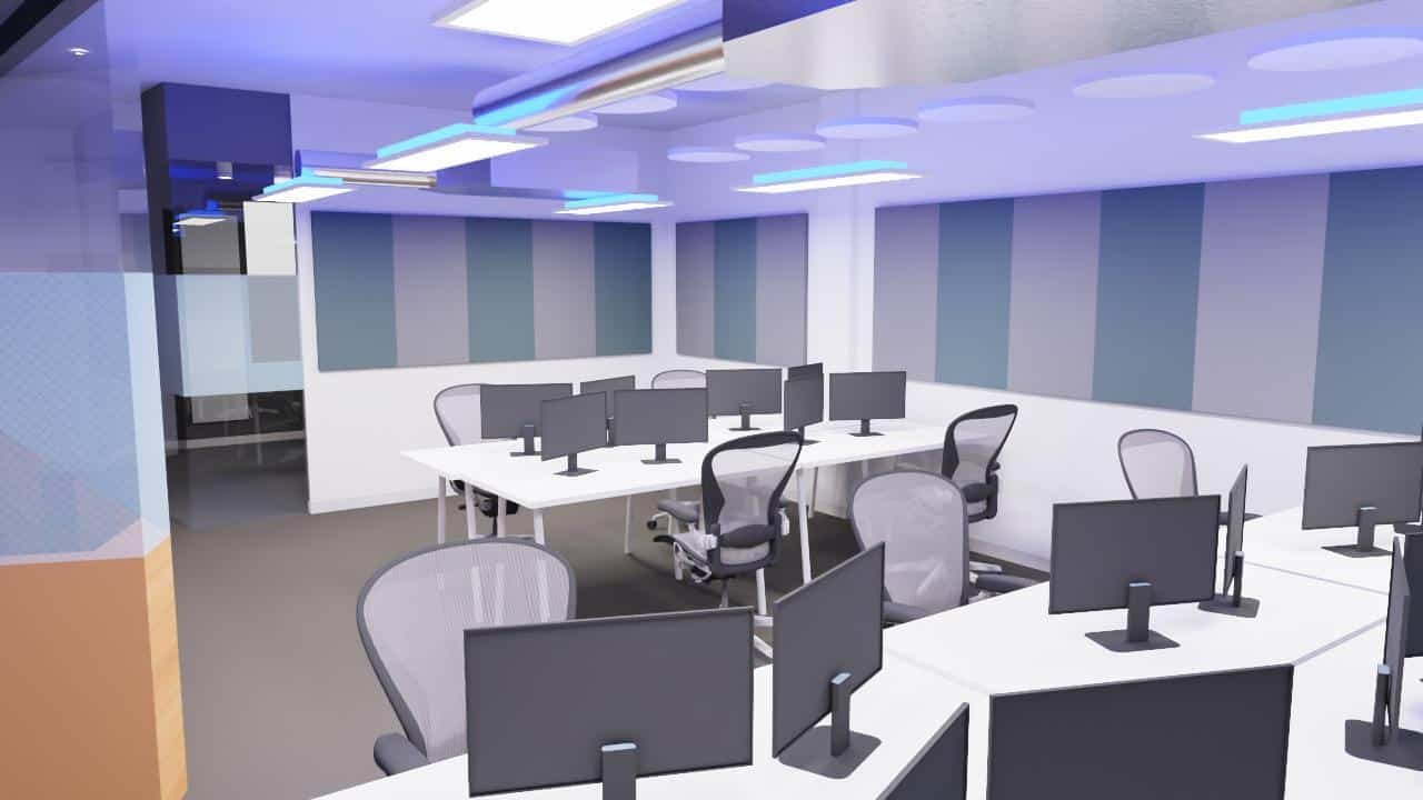 Acoustic treatment solutions offices 3