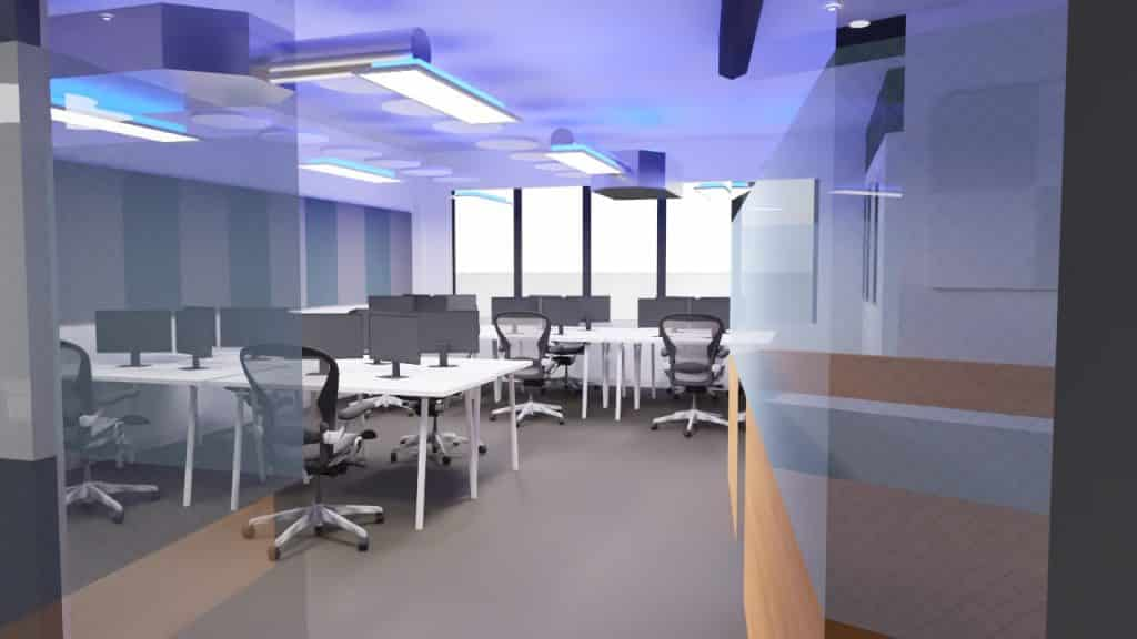 Acoustic treatment solutions offices 1