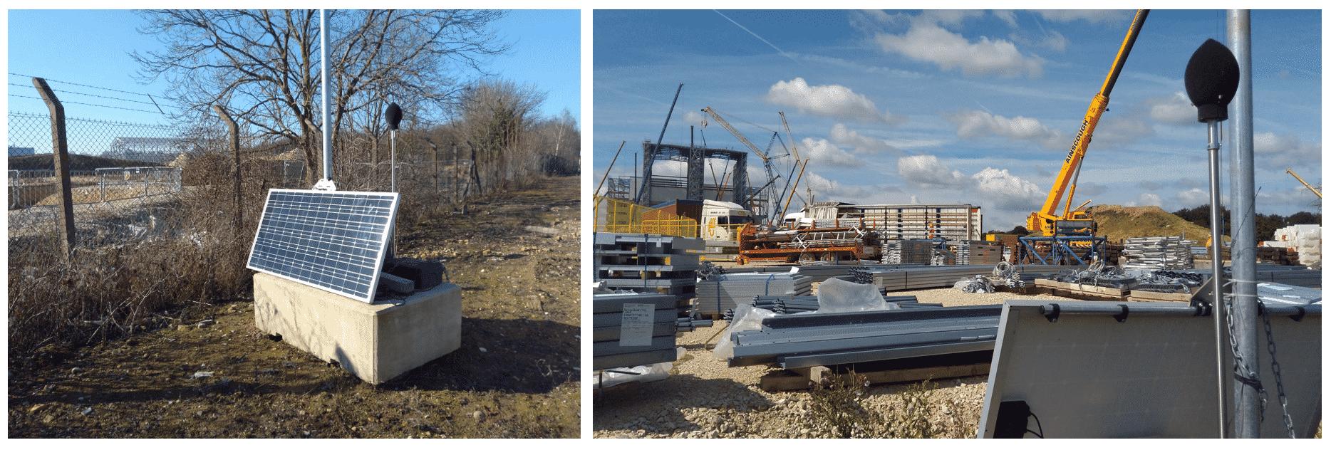 Construction noise monitoring