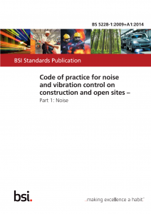 BS5288 Construction Noise Assessment Guidelines