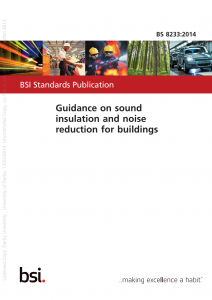 BS8233 Residential Noise Assessment Guidelines