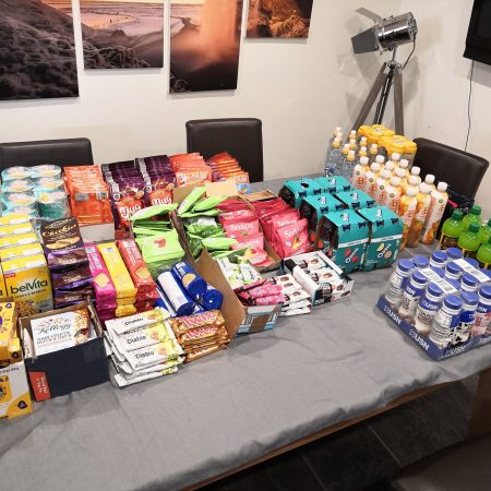 Food parcels for NHS heroes during COVID-19
