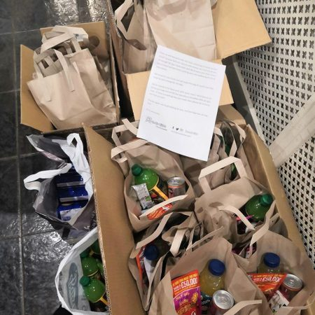 Food parcels for NHS workers during COVID-19